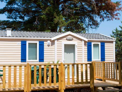 MOBILHOME 6 personnes - Confort, 2 chambres avec terrasse
