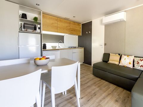 MOBILHOME 5 personnes - LUXE - 2 CHAMBRES