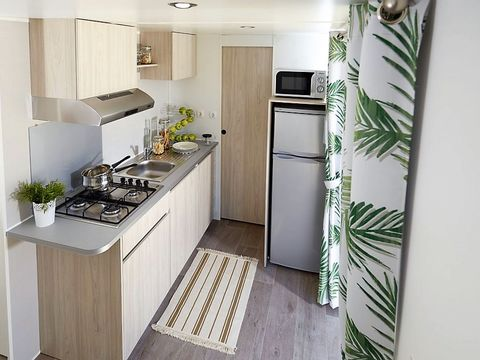 MOBILHOME 4 personnes - CONFORT - 2 CHAMBRES (2019)
