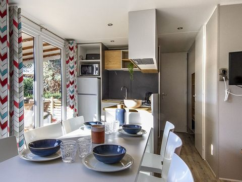 MOBILHOME 7 personnes - GRAND LUXE - 3 CHAMBRES