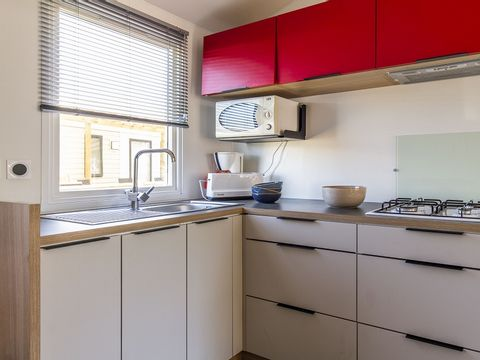 MOBILHOME 8 personnes - CONFORT