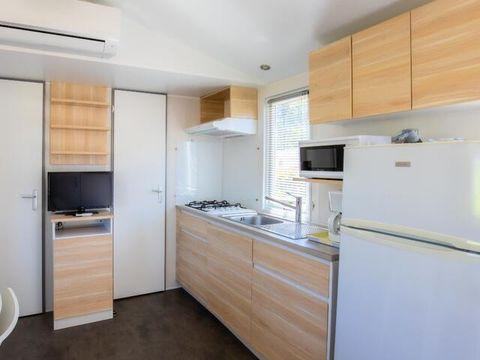 MOBILHOME 6 personnes - Confort 4 Pièces Climatisé + TV