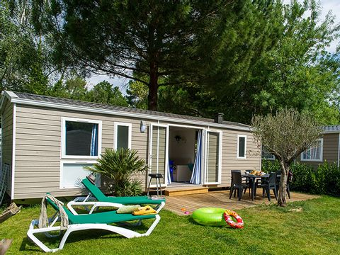 MOBILHOME 4 personnes - 2 Chambres  (Mistercamp)