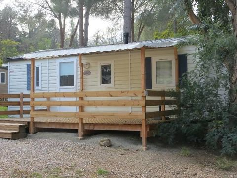 MOBILHOME 6 personnes - 3 chambres + Clim