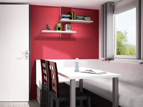 MOBILHOME 4 personnes - Grand Confort - 2 chambres - 2 SDB