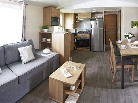 MOBILHOME 6 personnes - Grand Confort - 3 chambres - 2 SDB