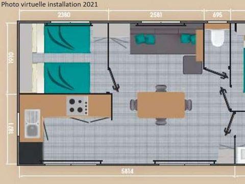 MOBILHOME 6 personnes - New Loggia Premium
