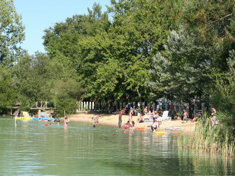 Camping le Chene du lac  - Camping Gironde - Image N°3