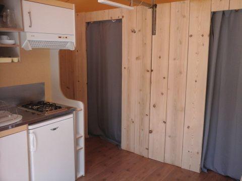 TENTE 5 personnes - Lodge Confort avec sanitaires