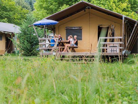 TENTE TOILE ET BOIS 6 personnes - Safari Belle Vue