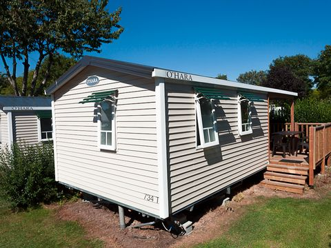 MOBILHOME 4 personnes - 27 m2 Terrasse semi-couverte