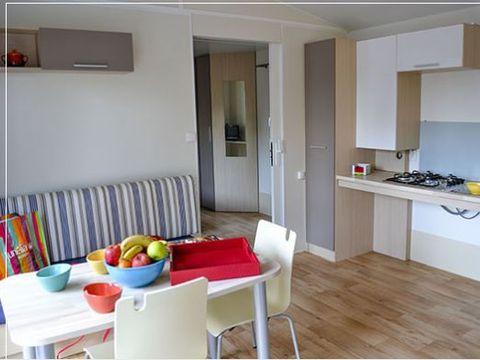 MOBILHOME 4 personnes - Confort 2 chambres PMR
