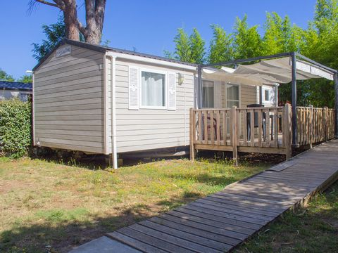MOBILHOME 6 personnes - PMR 3 chambres