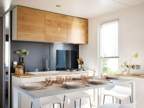 MOBILHOME 6 personnes - Confort + Premium 2 chambres