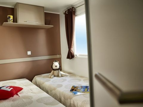 MOBILHOME 6 personnes - 3 chambres, Confort +