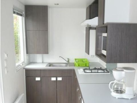 MOBILHOME 6 personnes - 3 chambres, 29m²