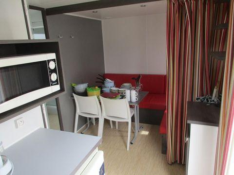 MOBILHOME 3 personnes - 1 chambre, 19m²