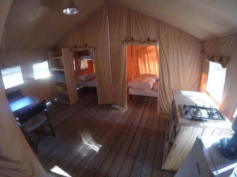 TENTE 5 personnes - Safari Lodge L sans sanitaires