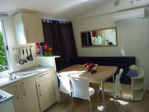 MOBILHOME 6 personnes - GRAND CHARME, 2 chambres