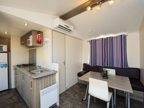 MOBILHOME 4 personnes - MAQUIS 2 chambres + climatisation