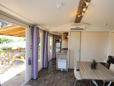MOBILHOME 6 personnes - MAQUIS 3 chambres + climatisation