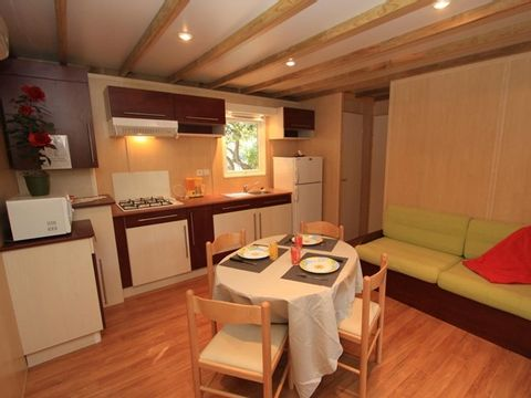 CHALET 4 personnes - 2 chambres + climatisation