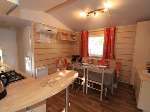 MOBILHOME 6 personnes - 2 chambres et convertible salon + climatisation