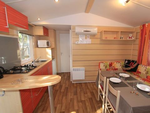 MOBILHOME 6 personnes - 3 chambres + climatisation