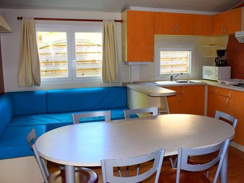 MOBILHOME 8 personnes - 35 m²