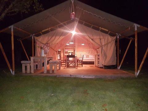 BUNGALOW TOILÉ 5 personnes - Lodge Safari, sans sanitaires