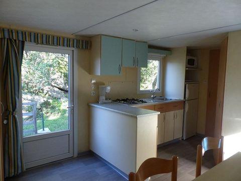 MOBILHOME 4 personnes - 28 m² + Terrasse