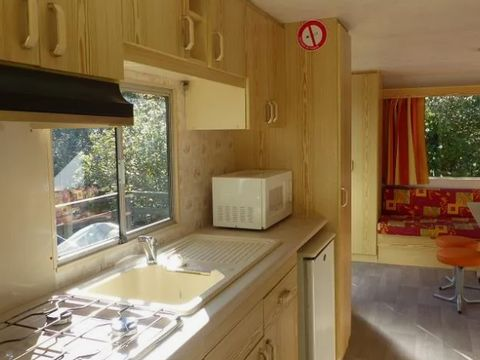 MOBILHOME 4 personnes - 28 m² + Jardin