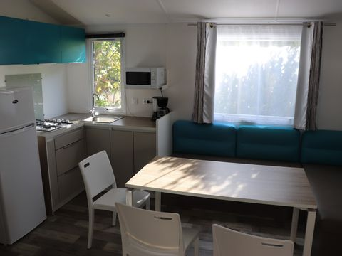 MOBILHOME 9 personnes - Excellence