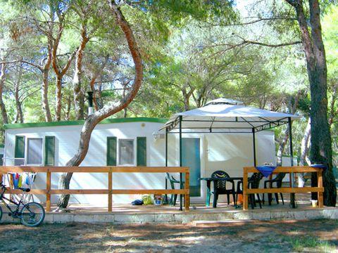 MOBILHOME 4 personnes - Gênes, 2 chambres + TV