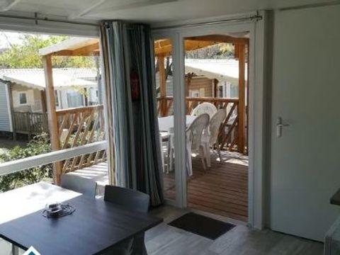 MOBILHOME 6 personnes - Cottage + Clim. 4/6p