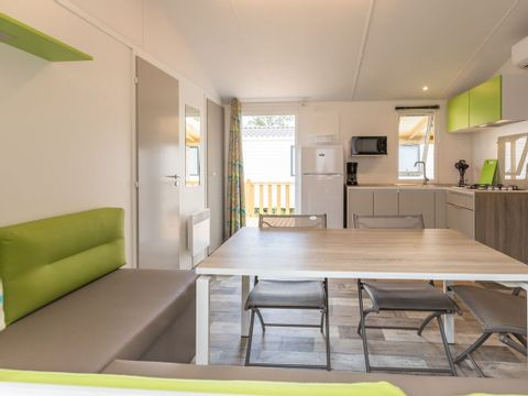 MOBILHOME 6 personnes - FAMILY CLIM 3 chambres