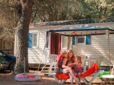 MOBILHOME 6 personnes - Bungalow 3 chambres