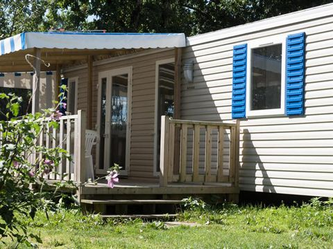 MOBILHOME 4 personnes - Type B, 2 chambres + TV
