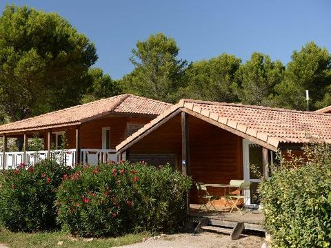Bouches-du-Rhône  Village de Chalets Shangri-La - Camping Bouches-du-Rhône - Afbeelding N°10