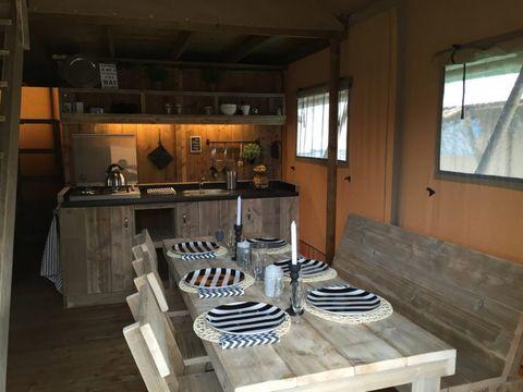 TENTE 8 personnes - Safari Lodge