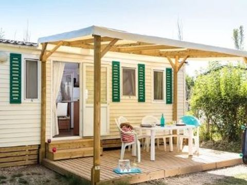MOBILHOME 6 personnes - Bungalow Clim. 4/6 Pers. (46BC)