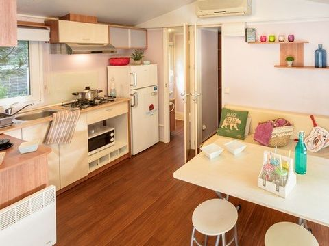 MOBILHOME 6 personnes - FAMILY CLIM 2 chambres