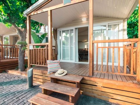 MOBILHOME 6 personnes - Koawa Loggia Premium Bord de Lac