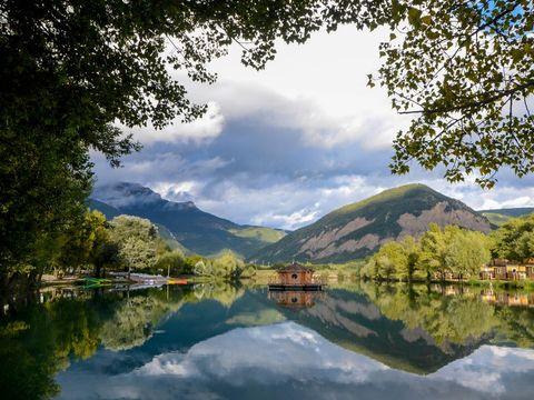 Camping le Lac Bleu - Camping Drome