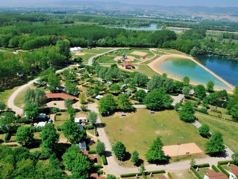 Camping du Lac de Cormoranche  - Camping Ain