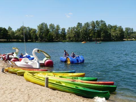 Camping du Lac de Cormoranche  - Camping Ain - Image N°7