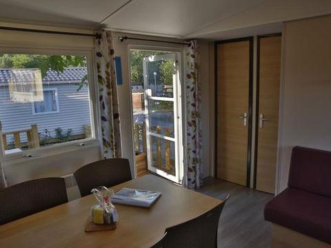 MOBILHOME 6 personnes - Mobil home de Dimanche à Dimanche - 2 Chambres (32m²) - TV Terrasse