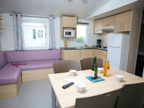 MOBILHOME 8 personnes - TV