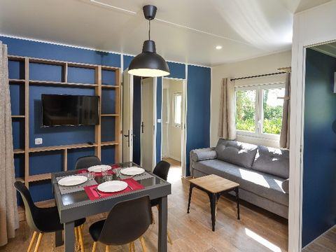 MOBILHOME 4 personnes - Camelot
