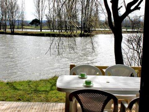 CHALET 4 personnes - Chalet Bois avec terrasse